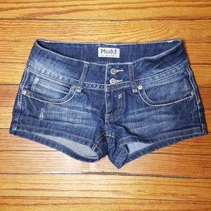 Mudd jean shorts junior size 1